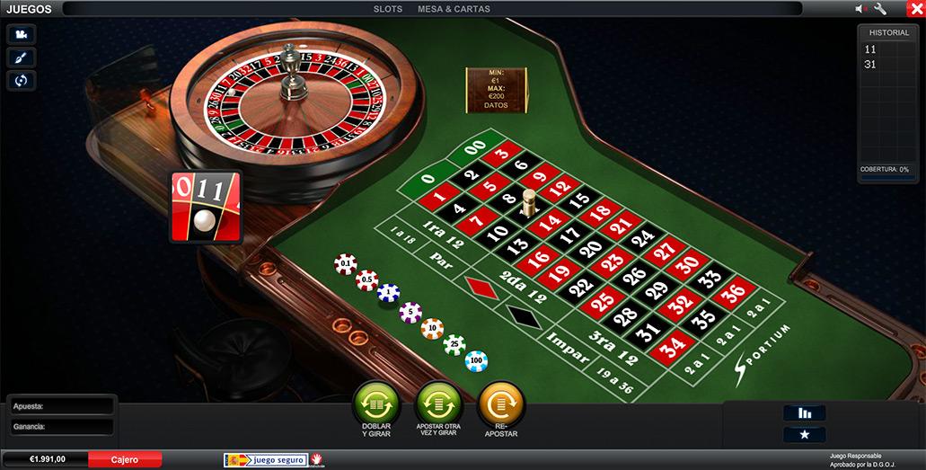 descargar juego de ruleta americana gratis